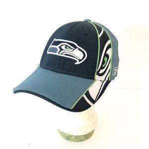 Rebok Seattle Seahawks NFL Authentic OSFM Cap Hat